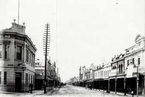 Corner of Gertrude and Smith Street - 1886