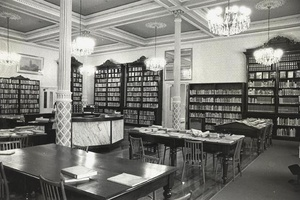 Fitzroy Library Reading Room