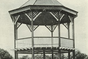 Bandstand at Barkly Gardens