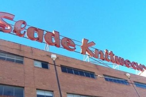 Slade Knitwear Factory and Neon Sign